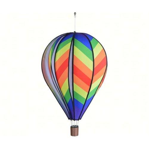 Premier Designs PD25895 22 in. Traditional Rainbow Hot Air Balloon