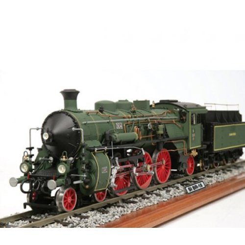 Occre Bavarian BR-18 Locomotive Train Scale Model Wood and Metal Display Kit