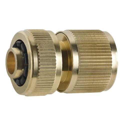 """Hose to Quick Connection Fitting Brass Quickfit Connect Hosepipe 1/2"""" and 3/4"""""""
