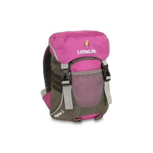 LittleLife Alpine 2 Kids Daysack Purple Backpack Travel Rucksack Bag
