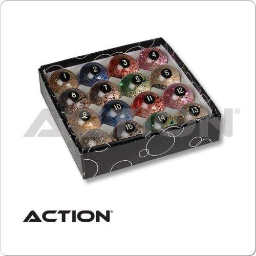 CueStix International BBGLR Action Glitter Balls