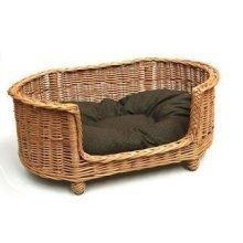 Luxury Oval Dog Pet Settee Medium