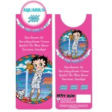 Betty Boop Aquarius Bookmark