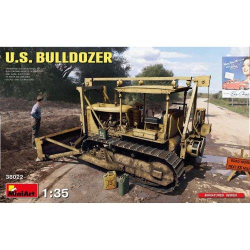 MIN38022 - Miniart 1:35 - US Bulldozer