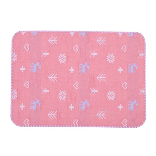 1 piece Waterproof Summer Baby Changing Pad Cover PINK, 50x70cm