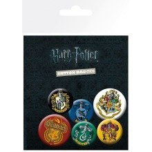 Harry Potter Crests Badge Pack