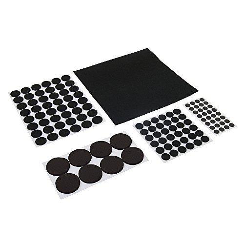 Fixman Self-adhesive Pads Set 125pce 125pce Black - Pads 125pce Set -  pads 125pce set selfadhesive black fixman furniture felt 969465