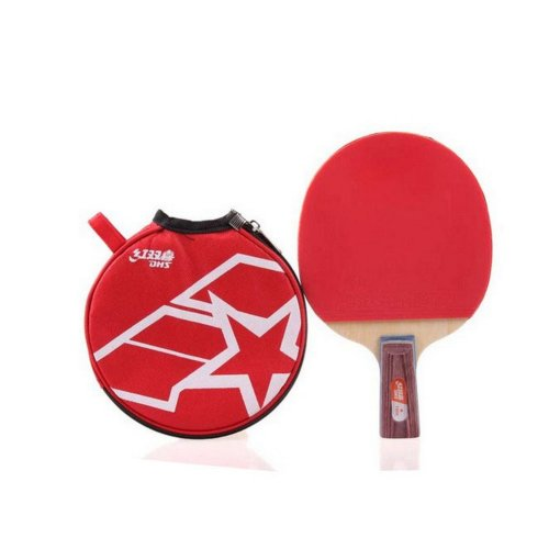 1006 Table Tennis Racket/Paddle with Cover Ping Pong Racket Pen Hold