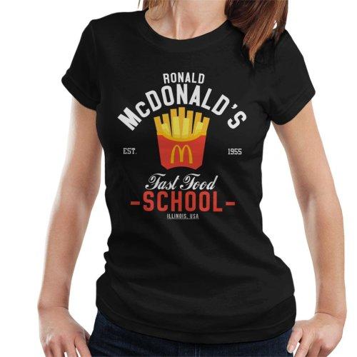 Ronald McDonalds Fast Food School Women's T-Shirt