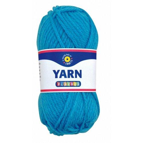 Pbx2470987 - Playbox - Acrylic Yarn (turquoise) - 50g