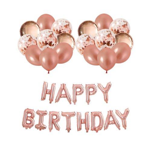 Winko Rose Gold Theme Birthday Party