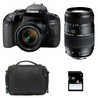 CANON EOS 800D KIT EF-S 18-55mm F4-5.6 IS STM+ TAMRON