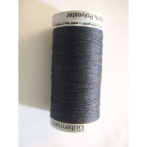 "Gutermann ""Jeans"" Extra Strong Polyester Thread - Dark Blue - 100m"