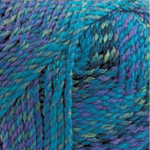 Marble Chunky Knitting Yarn by James Brett 200g (Purple/Blue/Teal MC8)