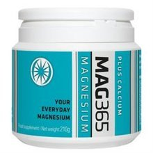 Mag365 Mag365 Plus Calcium 210g Magnesium Supplement