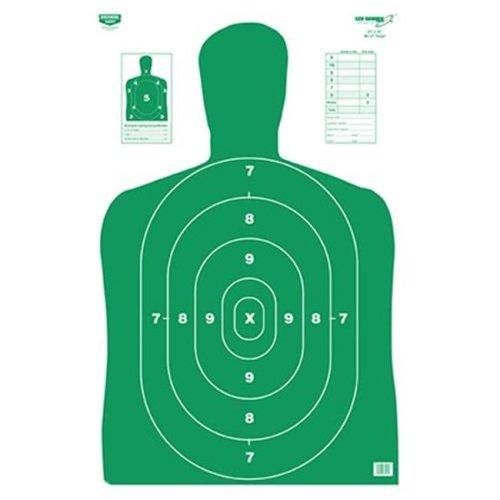 Birchwood Casey 37015 Eze-Scorer BC27 Green 23 in. x 35 in. Paper-5Tgts
