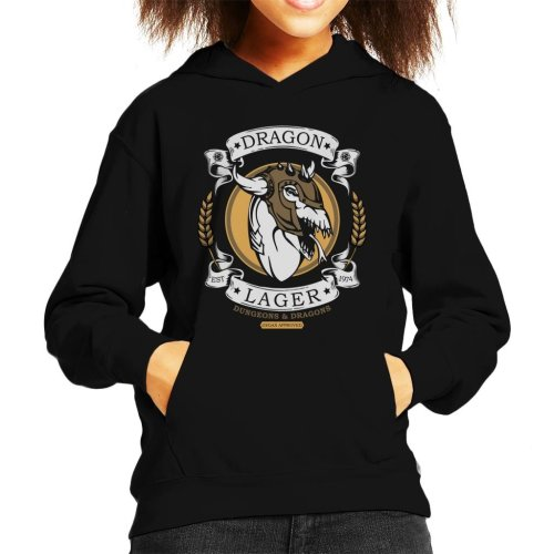 Dungeons And Dragons Dragon Lager Kid's Hooded Sweatshirt