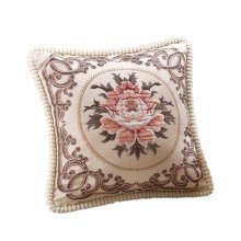 Classical Elegant Flower Pattern Throw Pillow Cover Decorative Cushion Covers B