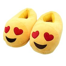 Emoji Stuffed Slippers
