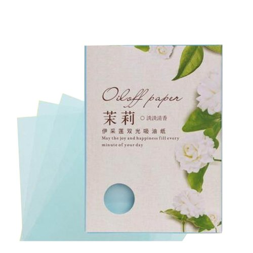 [Jasmine] 3 Sets Unisex Facial Oil Blotting Papers Oil Control Papers