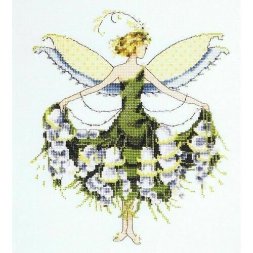 Pixie Couture Collection Lily Of The Valley Counted Cross Stitch Chart Pattern