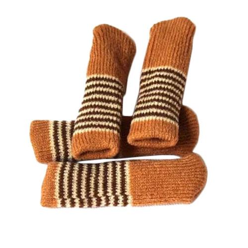 Set Of 12 Knitting Chair/Table Leg Pad Furniture Sock Floor Protector #1