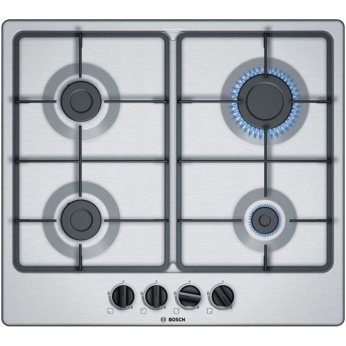 Stainless Steel 4 Burner Gas Hob BOSCH PGP6B5B60