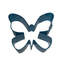Eddingtons Blue Enamel Painted Butterfly Cookie Cutter