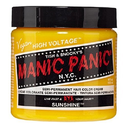 Manic Panic Classic Semi-Permanent Hair Dye 118ml (Sunshine)