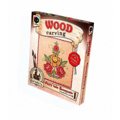 Elf706001 - Fantazer - Wood Carving - Fairytale Bouquet