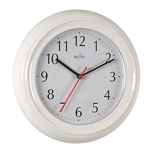 Acctim Wycombe Wall Clock - White
