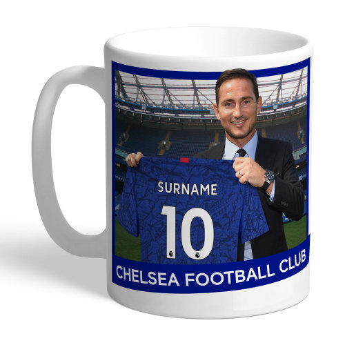 Official Personalised Chelsea FC Manager Mug