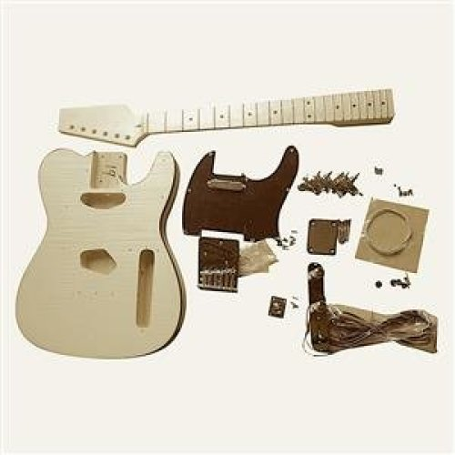 GDTLFM Coban Guitars Ash Body Flame Maple Veneer