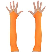 Widmann 00594 neon 3d Fingerless Satin Gloves And Other Toys -  widmann 00594neon 3d fingerless satin gloves other toys