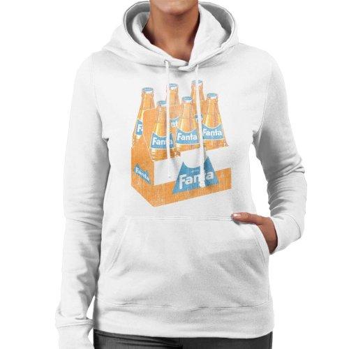 Fanta Retro 1960s Bottle Crate Women's Hooded Sweatshirt