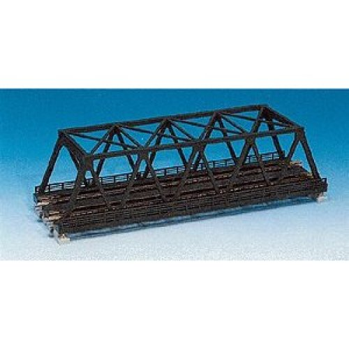 N Double Black Truss Bridge
