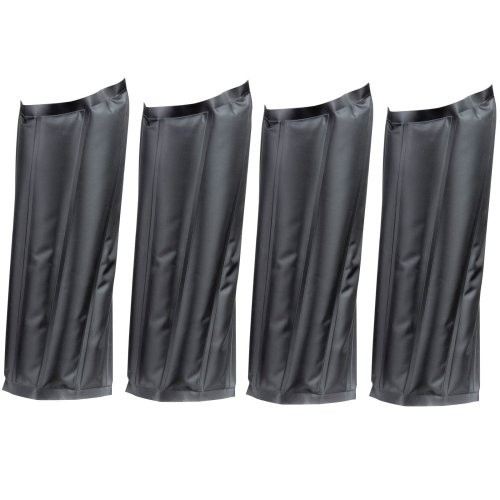 Set Of 4 Horse Knee Support Brace Sleeve Wrap Cap Stabilizer Hot And Cold Pack