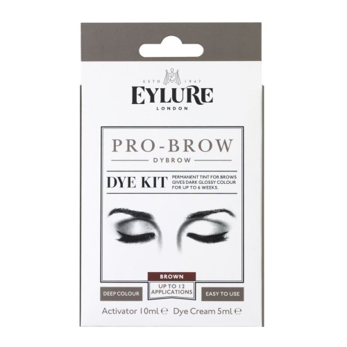 Eylure Pro-Brow Dybrow Dye Kit - Brown | Brow Dye Kit