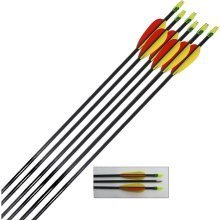 Archery Target Arrows Fibreglass 28 Inch (pack of 20)
