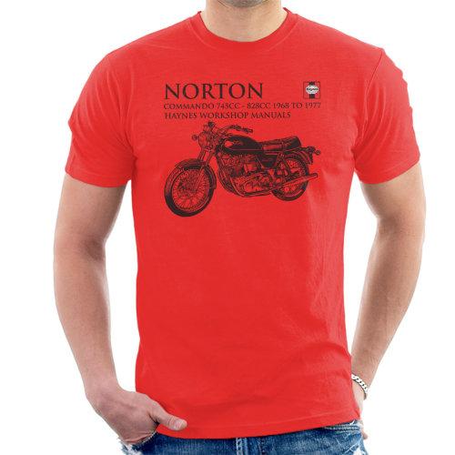 Haynes Owners Workshop Manual Norton Commando 745CC 828CC Men's T-Shirt