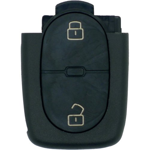 Fits Audi/VW 2 Button Key Fob Remote Key shell for large 2032 battery type