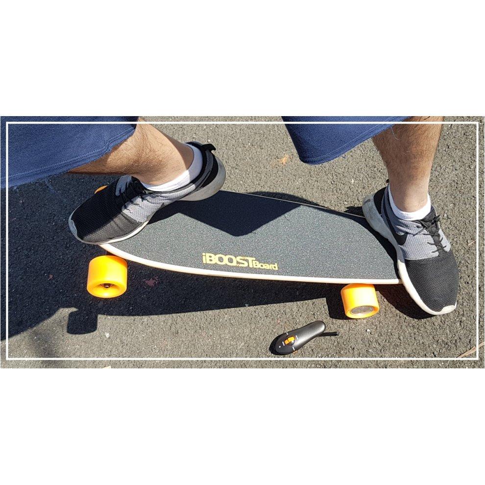 Iboostboard électrique motorisé Skateboard 400 W Large Fatboy Wheels /& Remote