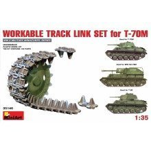 Min35146 - Miniart 1:35 - Workable Track Link Set for T-70m Light Tank