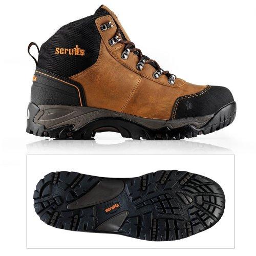 Scruffs ASSAULT SBP SRC Rated Safety Hiker - Brown (Sizes 7-12)