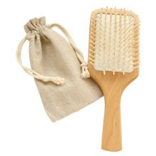 Premium Durable Square Wooden Hair Comb Afro Pick Anti-static Combs (25*8.5 CM)