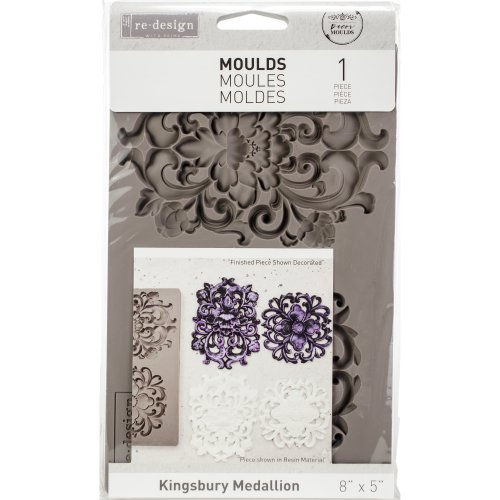Prima Re-Design Decor Mould-Kingsbury Medallion