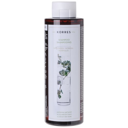KORRES Shampoo Aloe and Dittany for Normal Hair 250 ml