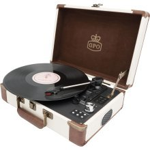 Ambassador - Retro Style Briefcase Turntable