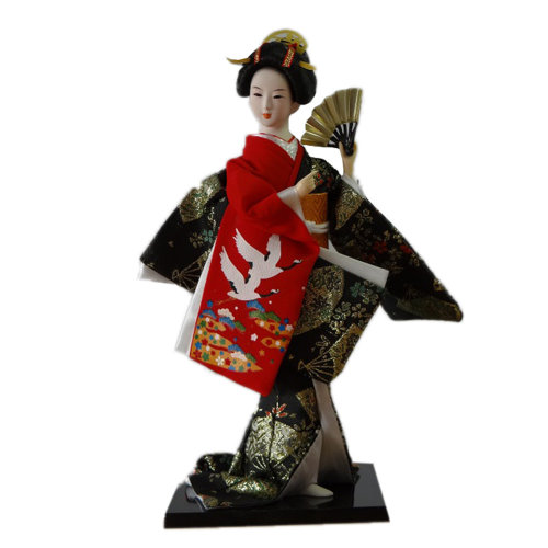 Japanese Geisha Doll Furnishing Articles/ Oriental Doll/ Best Gifts