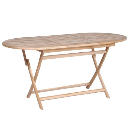 vidaXL Dining Table Solid Teak 160x80x75 cm